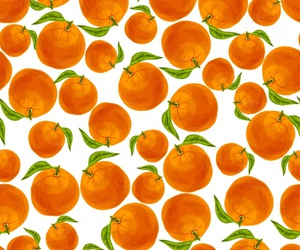 oranges and pattern image