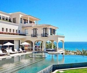 house, beach, and beautiful image
