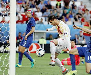 football, la furia roja, and spain nt image