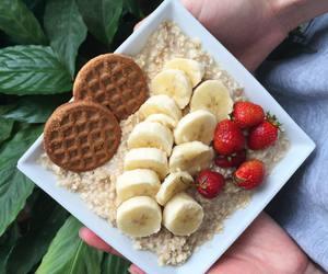 banana, Cookies, and food image