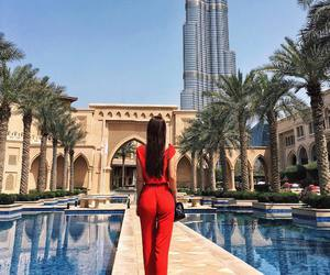 Dubai, girl, and luxury image