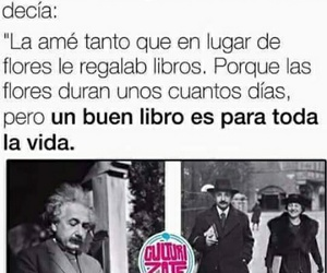 books, frases, and gift image