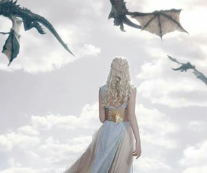 game of thrones, dragon, and got image