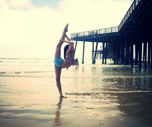 beach, flexible, and goals image