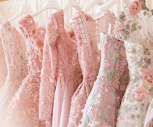 embellishment, embroidery, and gowns image