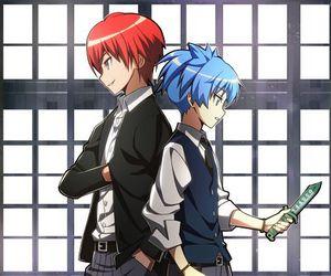 assassination classroom, anime, and manga image