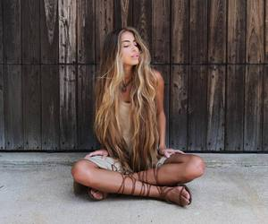 peace, serenity, and hippie soul image