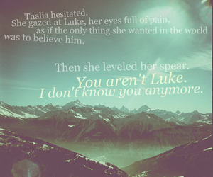 LUke, quote, and percy jackson image