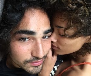couple, models, and willy cartier image