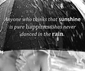 rain, dance, and sunshine image