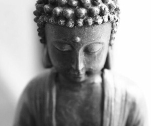 Buddha, peace, and wallpaper image