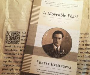 book, books, and hemingway image
