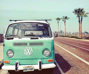summer, travel, and vw image
