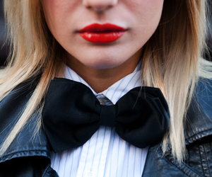 blonde, bow, and fashion image