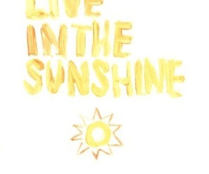 sunshine, quotes, and sun image