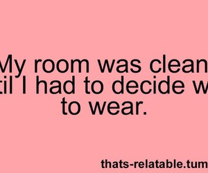 funny, clothes, and quote image
