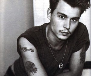 actor, johnny depp, and handsome image