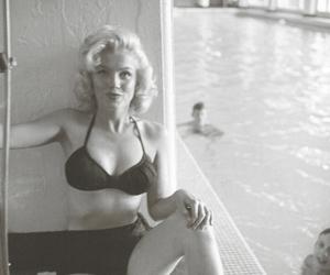 girl, thin, and Marilyn Monroe image