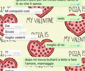 chat, italiano, and whatsapp image