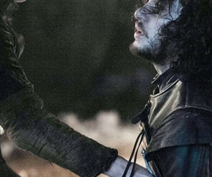 game of thrones, jon snow, and olly image