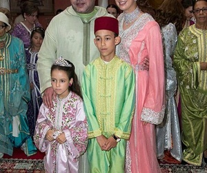 king, maroc, and lalla salma image