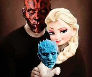 elsa, frozen, and star wars image