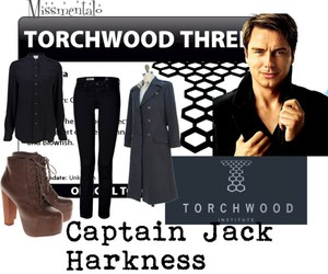 Polyvore, torchwood, and jack harkness image