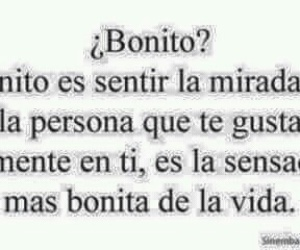 love, bonito, and frases image