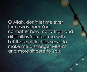 allah, pray, and quote image