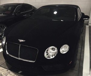 Bentley, black, and car image