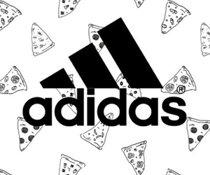 adidas and pizza image