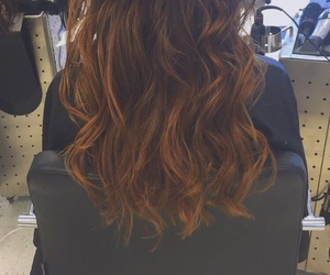 blonde, brunette, and dyed image