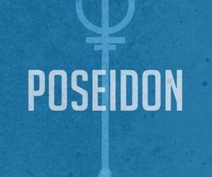 poseidon, percy jackson, and blue image