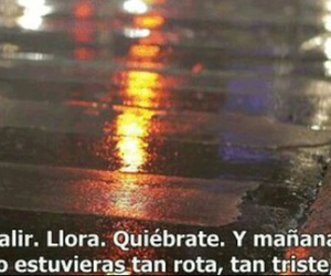frases, cry, and sonrisa image