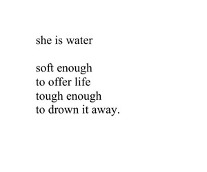 deep, drown, and water image