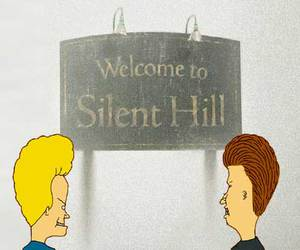 beavis and butthead and silent hill image