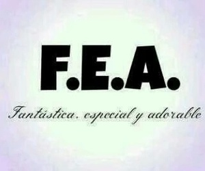 fea, especial, and adorable image