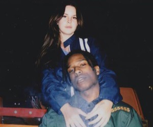 lana del rey, asap rocky, and grunge image