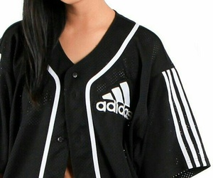 adidas, baseball, and black image