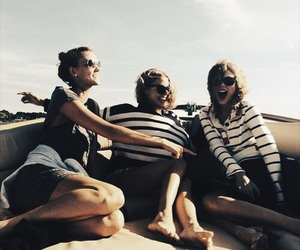 Taylor Swift, friends, and Karlie Kloss image