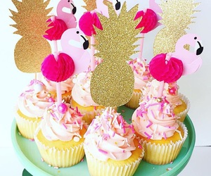 cupcakes, girly, and pastel image