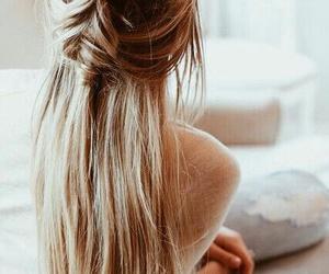 girl, hair, and peinado image