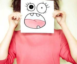 girl and funny image