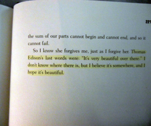 quote, book, and beautiful image