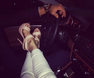 love, car, and couple image