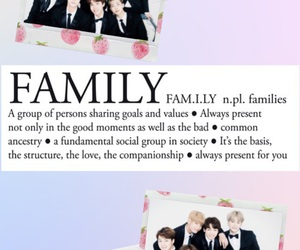 family, jin, and polaroid image