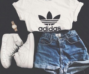 adidas, outfit, and nike image