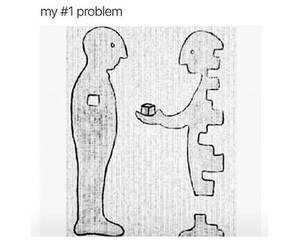 quotes, problem, and me image