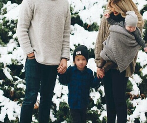 family, baby, and goals image