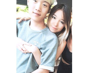 asian, girl, and girlfriend image